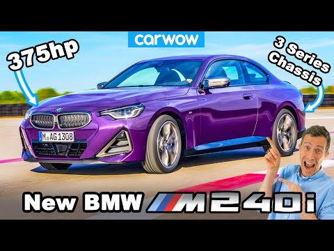 New BMW M240i & 2 Series Coupe: RWD-based chassis for the win!