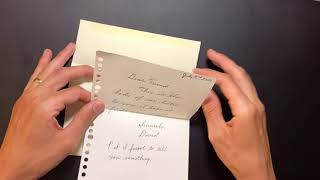How to write and mail a really nice letter to a friend (step by step instructions)