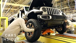 How Jeep Makes Its Iconic Wranglers