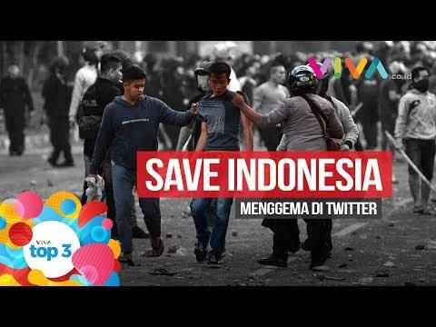 VIVA Top3: Ricuh 22 Mei, Eks Danjen Kopassus Diciduk & Save Indonesia