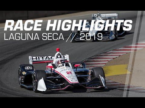 2019 IndyCar: Laguna Seca Race Highlights