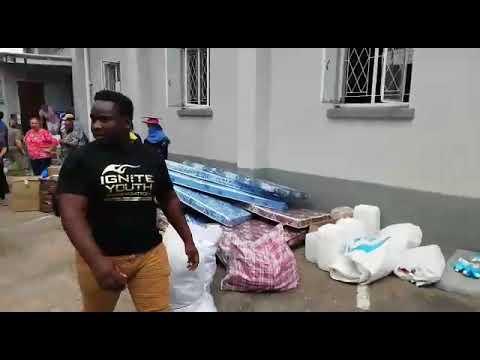 WATCH: Highlands Presbyterian Church donates to Cyclone Idai Victims