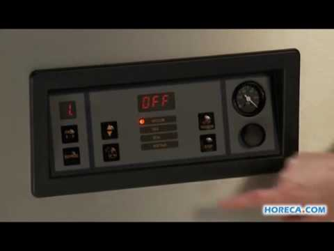 Video Henkelman machine sous vide Marlin 52, avec injection de gaz