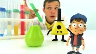 Игрушки Гравити Фолз - Аллергия у Диппера - Видео для детей