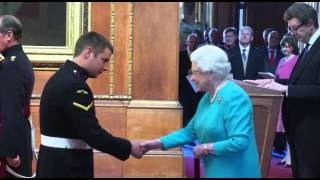 Paratrooper Awarded Victoria Cross by The Queen | Forces TV