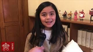 Concurso del Arzobispado de Santiago de Chile: los ganadores se encuentran con el Papa