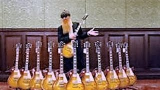 """Billy Gibbons Chibson 1959 """"R9"""" Aged Unboxing"""