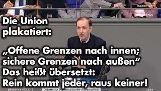Bundestags-Rede zu Seehofers Geordnete-Rückkehr-Gesetz