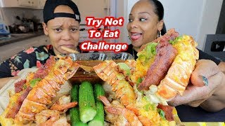 CHEESY LOADED LOBSTER TAILS MUKBANG!!!