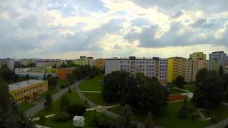 preview picture of video 'timelapse sídliště Opava - Kateřinky'