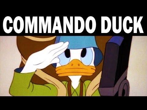 Commando Duck   Donald Duck vs. the Japanese   1944   WW2 Era Cartoon