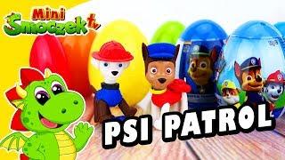 Psi Patrol: Chase to Marshall? Jajka Niespodzianki! Zabawki Bajki Dla Dzieci Po Polsku