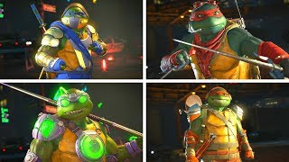 Injustice 2 - TMNT (Ninja Turtles) All Epic Gear Sets/Epic Gear Showcase
