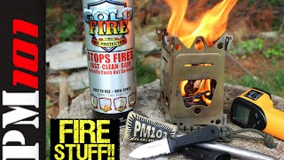Fire Stuff: Super Edge/Emberlit Fire Ant/Coldfire Extinguisher -Preparedmind101