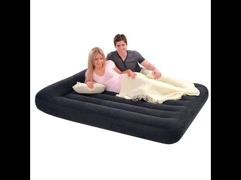 Как сдуть надувной матрас для сна до магазинного размера. Два отличных способа
