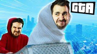 CREEPY E.T. FLYING BIKE | GTA 5 Races (w/ RTGame!)