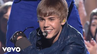 Justin Bieber, Usher   BabyNever Say NeverOMG (GRAMMYs On CBS) Ft. Jaden Smith