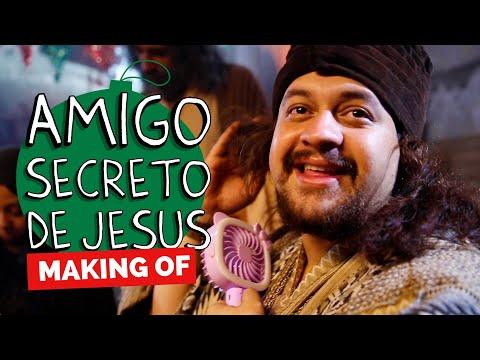MAKING OF - AMIGO SECRETO DE JESUS