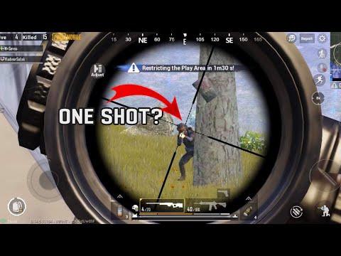 AWM SHOTS ARE CRAZY | PUBG MOBILE