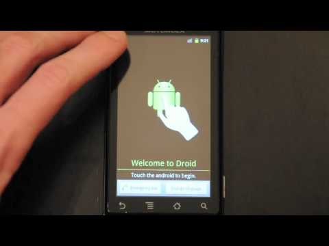 Bypass The 'Touch The Android To Begin' Screen With A Few Taps