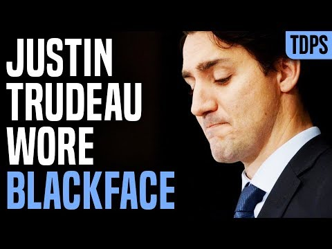 Justin Trudeau Caught Wearing Blackface in Old Picture