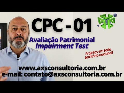 CPC-01 - Impairment Test Consultoria Empresarial Passivo Bancário Ativo Imobilizado Ativo Fixo