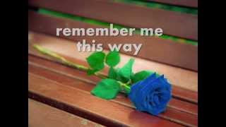 REMEMBER ME THIS WAY - Jordan Hill (Lyrics)