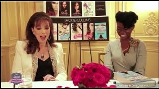 Jackie Collins: How to be a Successful Writer & Powerful Woman - with Abiola Abrams