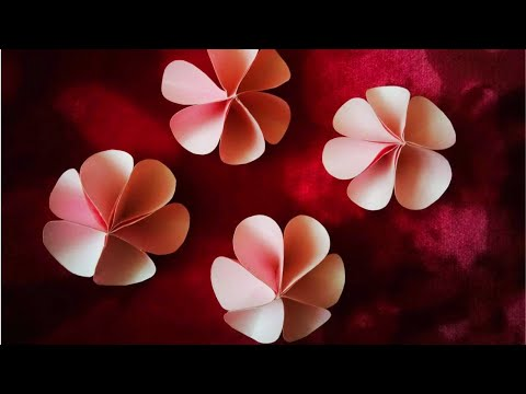 DIY paper Flower l easy and simple paper crafts