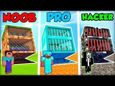 NOOBOVSKE BLOCK VĚZENÍ vs. PRO VĚZENÍ vs. HACKER VĚZENÍ! (Animace)