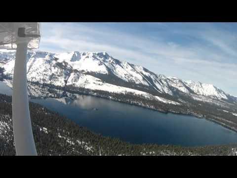 Lake Tahoe Mountain Flight