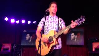 """Andy Grammer - """"Holding Out"""" - Boston, MA 8/8/14"""