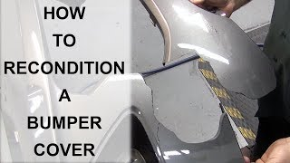 How to Recondition a Bumper Cover