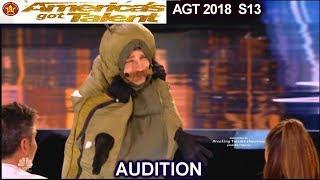 Sethward The Caterpillar Guy  America's Got Talent 2018 Audition AGT