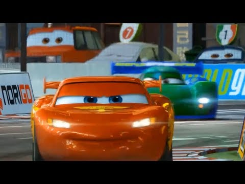 Cars 2 - Legend Of Piston Cup - Best Racing Scene - Cars Music [HD]