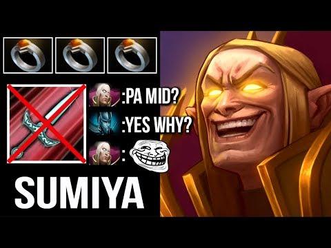 Like a Boss! SumiYa Best Invoker Counter PA Mid Epic Combo Gameplay WTF Dota 2