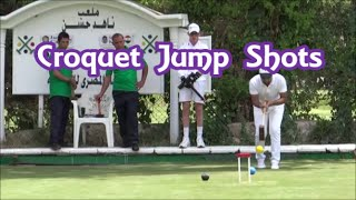 Croquet Jump Shots - montage