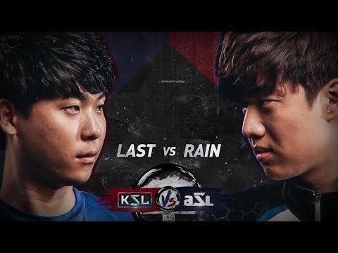 KSL vs ASL - Last vs Rain - StarCraft Remastered Exhibition - BlizzCon 2018