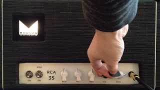 5 Minutes With The Morgan RCA35 Amp   Gear Demo