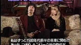 Ritchie Blackmore talking about Blackmore' s Night