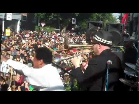 Nottinghill Carnival 2011 Winston Francis and Goldmaster Allstars Real Rock