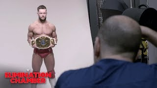 Finn Bálor's first photoshoot as Intercontinental Champion: WWE Exclusive, Feb. 17, 2019