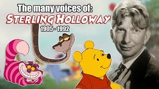 Many Voices of Sterling Holloway (Animated Tribute -- Winnie the Pooh)