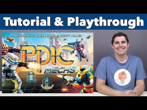 JonGetsGames - Tiny Epic Mechs Tutorial & Playthrough