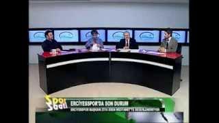 Tv Kayseri Spor Saati Mustafa Duran, Kenan Burhan Ziya Eren 1 Nisan  2013