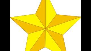 Cắt ngôi sao năm cánh đơn giản mà lại đẹp
