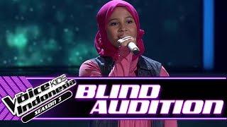 Alyssa - Cinta Sejati   Blind Auditions   The Voice Kids Indonesia Season 3 GTV 2018