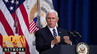 Pence talks potential US response to Iran, NYT article on Justice Kavanaugh