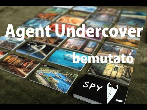 Agent Undercover - társasjáték bemutató - Jatszma.ro