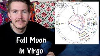 Full Moon 🌕 Supermoon in Virgo ♍️ 9 March 2020 🌟 Gregory Scott Astrology